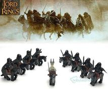 18pcs Lord Of The Rings Horsemen Nazgul and Witch-king Minifigures Building Toys - $32.99