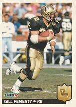 1992 Fleer #274 Gill Fenerty - $0.50