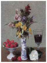 "11x14""Poster on Canvas.Home Room Interior design.Flower bouquet vase.6477 - $28.05"
