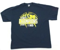 Blue 84 Extra Large T-shirt Michigan Basketball Short Sleeve Blue Tee 10... - $16.88