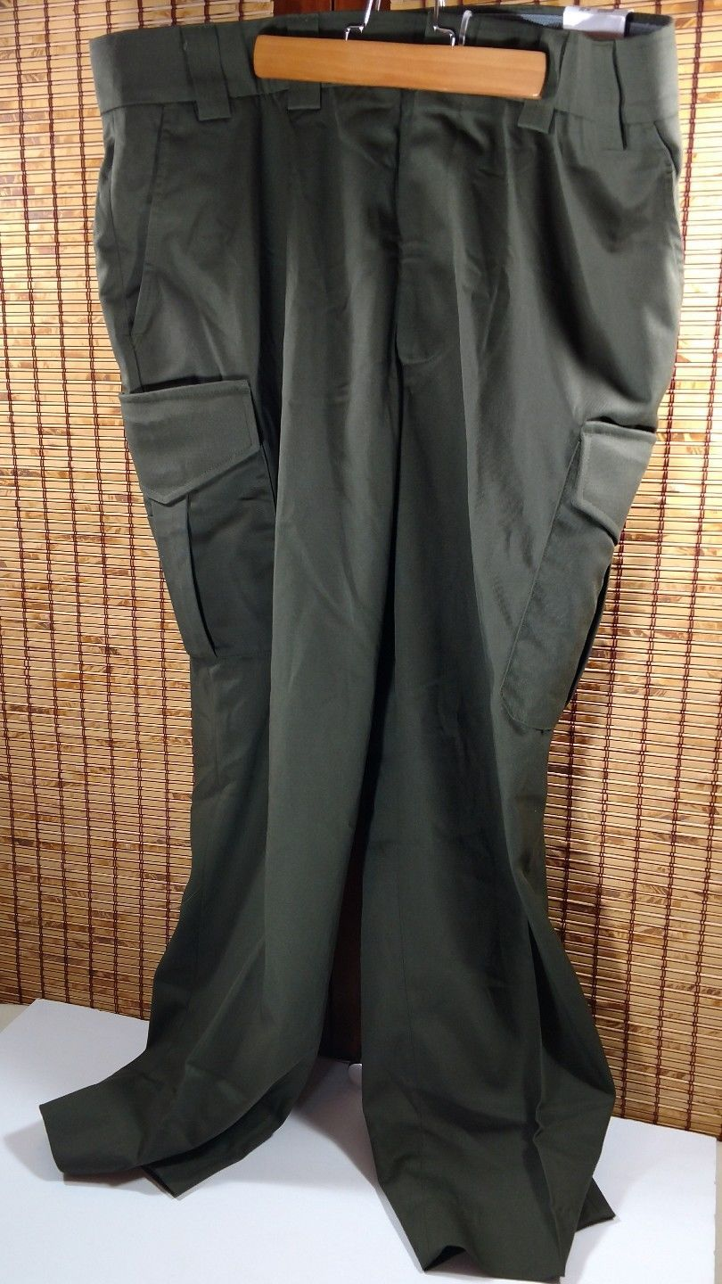 5093fa5953 S l1600. S l1600. Previous. Blauer Side Pocket Sheriff Border Patrol Duty Tactical  Pants Trousers Green 8980