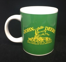 John Deere Moline Ill. Ceramic Coffee Mug Licensed Product by Gibson gre... - $14.03