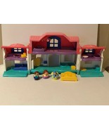 Fisher Price Little People Sweet Sounds Doll House Dollhouse Figures Baby - $29.99