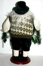 American Silkflower SO1683 Irish Santa Holding Garland with Shamrocks image 2