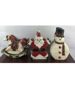 Vintage Lot Of 6 Holiday Candles - $14.03
