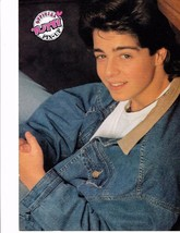 Joey Lawrence teen magazine pinup clippings Tiger Beat Brothery Love Jean Jacket
