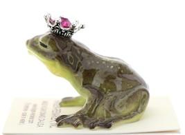Hagen-Renaker Miniature Frog Prince Kissing Birthstone 10 October Tourmaline image 4
