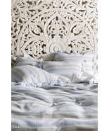 Anthropologie Woven Stripe Duvet Cover King and 2 Standard Shams - NWT - $201.95