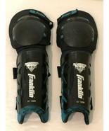 "Franklin Shin Knee Guards Hockey SH COMP 1950 13"" 33 cm Black Adult Smal... - $29.99"