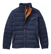 Timberland Men's Mt Davis Waxed Down Jacket, Dark Sapphire. Size: M - $135.58