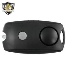 Streetwise Panic Alarm Button BLACK Keychain Flashlight Security Safety ... - $11.98