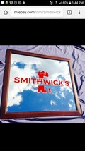 "Smithwick's Imported Beer Guinness  Bar Big Mirror Man Cave Pub ""New"" 36x32 - $167.04"