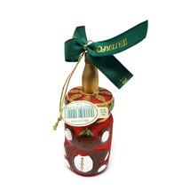 Waterford Holiday Heirlooms Baby's First Bottle 2001 Christmas Ornament - $19.79