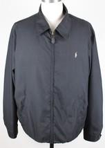NEW Polo Ralph Lauren Microfiber Bi-Swing Windbreaker Jacket MENS XL Black - $79.99
