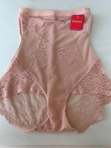 New Spanx High Waisted Brief Vintage Rose SZ M $64 - $54.31