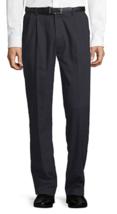 Men's St. John's Bay Easy Care Classic Fit Pleat Front Pants Size 40x29