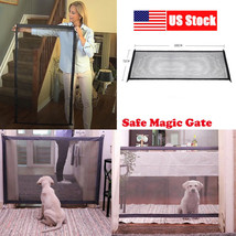 Modern Magic Gate Portable Folding Safety Guard For Pet Dog Cat Isolated... - $33.70