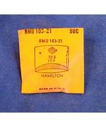 Vintage Hamilton Plastic Crystal  Wristwatch Part CMT 302.18 RMU 103-21 - $10.99
