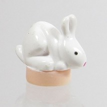 2000 Vintage Polly Pocket Doll Petland (Hacienda)- Laying Rabbit Bluebir... - $5.00