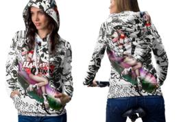 Harley Quinn Women's Hoodie Zipper - $52.99