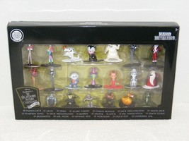 NIP 2018 JADA TOYS THE NIGHTMARE BEFORE CHRISTMAS NANO METALFIGS 25 YEARS  - $29.99