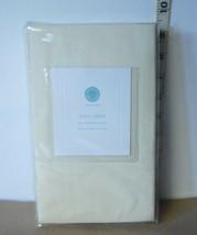 Martha Stewart Collection King Sham Cotton Cream Colored Pillow Sham NIP - $17.61