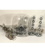 Harmon Kardon Soundsticks Multimedia Vintage Clear USB Speaker System AP... - $123.74
