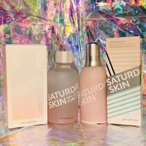 BNIB Saturday Skin FULL SZ CLARIFYING TONER + Press Pause Hydrating Essence image 1