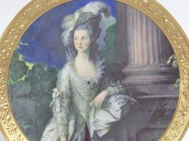 Honorable Mrs Graham 1777 Gorham Gallery Gainsborough Plate-11 y149  - $45.00