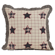 3-pc Bingham Star Pillow Set - 1 Fabric, 1 Applique Star and 1 Little Accent VHC