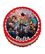Toystory 4 Toy Story **ROUND** edible cake image frosting sheet topper - $7.80