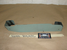 67 Cadillac Sedan De Ville Passenger Side Right Front Bench Seat Track Trim Cover - $54.44