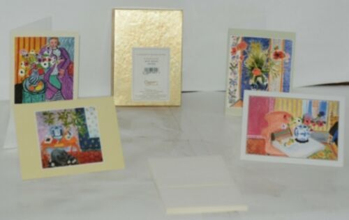 Caspari 15619 46 Matisse 8 Assorted Boxed Notes With Envelopes