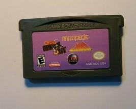 Millipede Super Break Out Lunar  Nintendo Gameboy Advance GBA Original Cartridge - $4.86