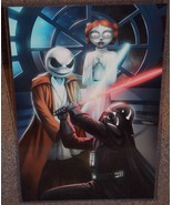 Star Wars Darth Vader vs Jack Jedi Glossy Art Print 11x17 In Hard Plasti... - $24.99