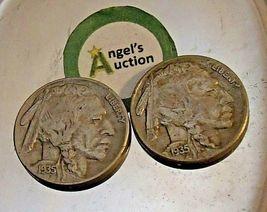 Buffalo Nickel 1935 P and 1935 S  AA20BN-CN7002 image 8