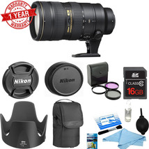 Nikon AF-S Nikkor 70-200mm f/2.8G ED VR II Lens w/ 16GB MC | C.K | Filte... - $2,173.05