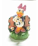 Disney Daisy Lenox Porcelain Figurine Thimble Box & Certificate - $9.95