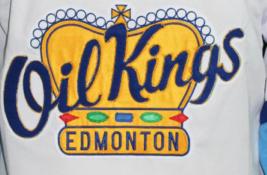 Custom Name # Edmonton Oil Kings Retro Hockey Jersey New White Semchuk Any Size image 4