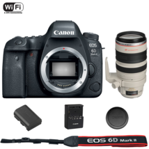 Canon EOS 6D Mark II DSLR Camera Body with EF 28-300mm f/3.5-5.6L IS USM Lens - $3,173.52