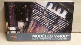 2014 Harley Davidson VRSC V-ROD Models FRENCH Owner's Manual 99736-14FR - $30.67