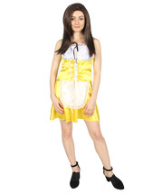 Adult Women's French Maid Costume | Orange and White Cosplay Costume - $37.85