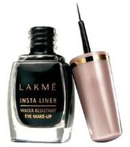 LAKME Insta Water Resistant Eye Liner Black Beautiful Eye Makeup I Origi... - $5.93