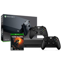 Xbox One X 1TB Console + Shadow of the Tomb Raider + Extra Xbox Controller - $720.00