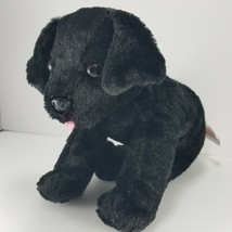 "MELISSA & DOUG Benson Black Lab 10"" Long Stuffed Animal Dog Plush Soft S... - $14.84"