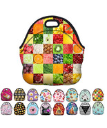 StylesILove 3D print Picnic Snack Neoprene Insulated Cooler Lunch Tote Bag - $11.99