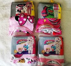 Minnie Mouse &  Shopkins Girls Underwear Set Thermal 2 Piece Sizes Vary - $12.95
