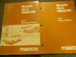 1982 Mazda Glc Wagon Service Repair Shop Manual Set Factory Oem Books 82 - $11.54