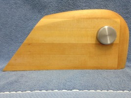 LEGNOART HAND FINISHED 5 SLOT KNIFE BLOCK (VINTAGE) GOOD USED CONDITION - $37.76