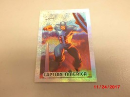 1994 Fleer Marvel Masterpieces Limited Edition Holofoil #1 Captain America - $2.97